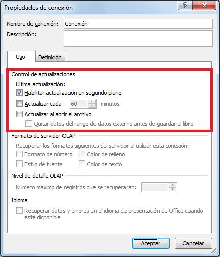 Cómo hacer una consulta Web desde Excel