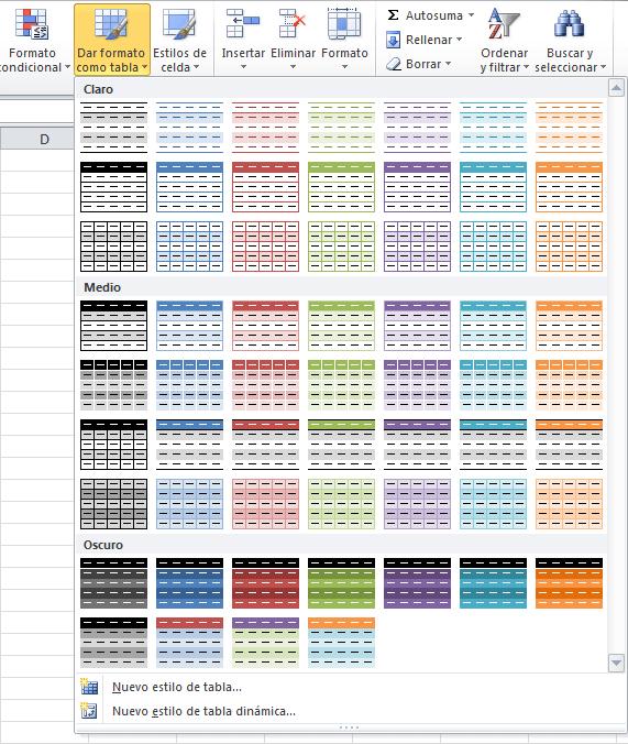 Resaltar filas alternas en Excel - Excel Total