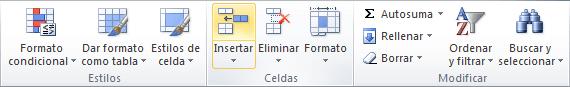 Agregar filas automáticamente a una tabla en Excel
