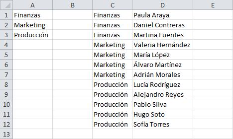 Cambiar valores de una lista basados en la selección de otra lista
