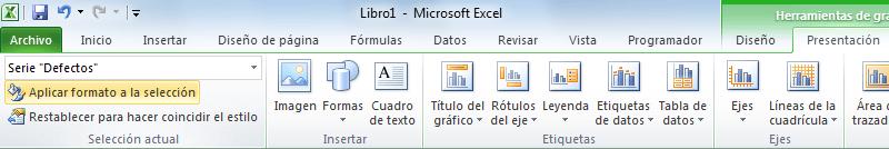 Crear dos gráficos de Excel en uno solo