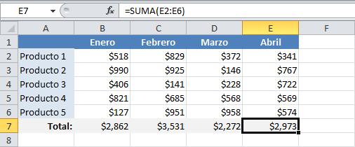 Qué son las referencias relativas en Excel