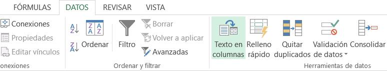 Cambiar formato de celdas de número a texto en Excel
