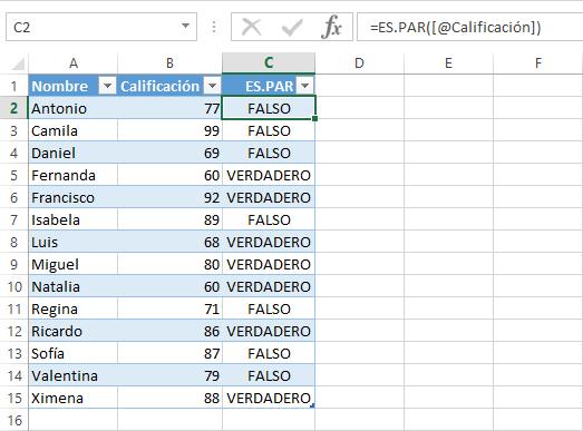 Cómo filtrar columna con números en Excel