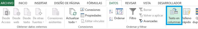 Invertir el día y mes de la fecha en Excel