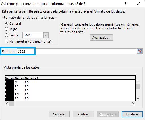 Cambiar fecha inglés a español en Excel