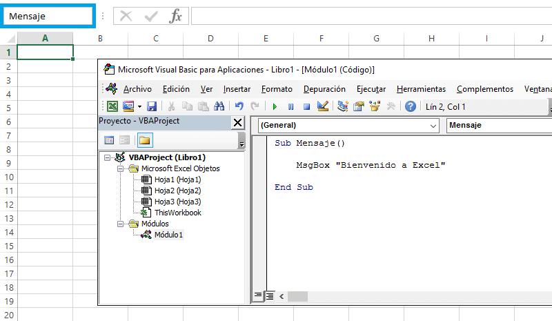 El cuadro de nombres en Excel - Excel Total