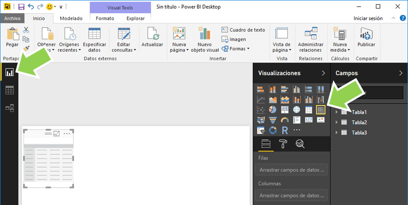 Informes con Power BI Desktop