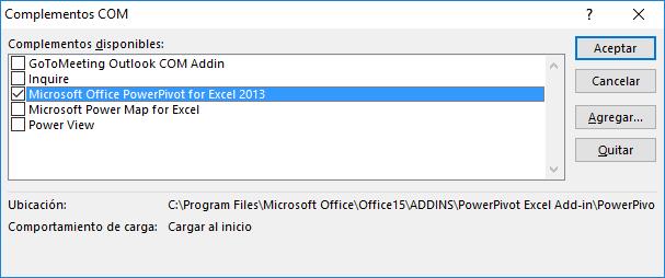Cómo activar e instalar Power Pivot para Excel
