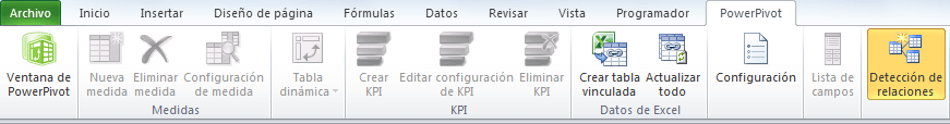 Compatibilidad de Power Pivot entre versiones