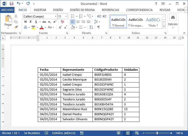 Obtener datos desde el complemento Power Pivot en Excel