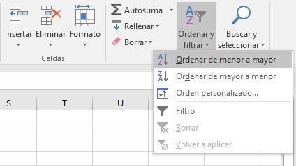 Añadir filas intercaladas en blanco automáticamente