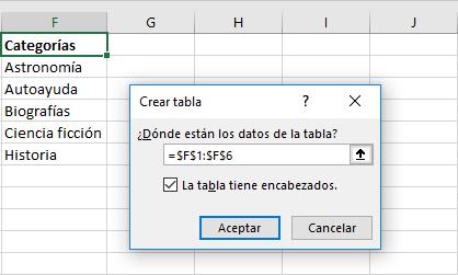 Cómo actualizar automáticamente una lista desplegable en Excel