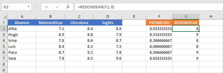 Varias fórmulas en la misma celda de Excel