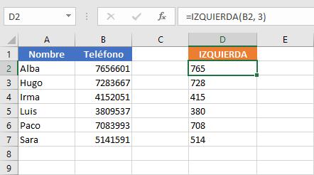Cómo combinar funciones en Excel