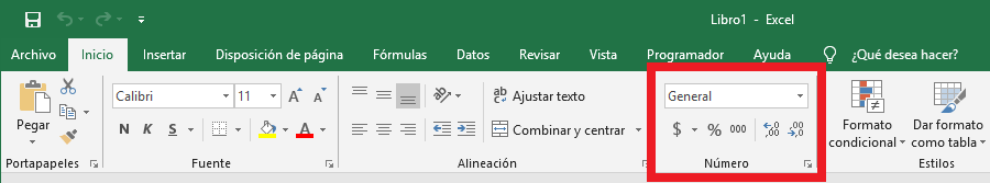 Opciones de formato de celdas en Excel