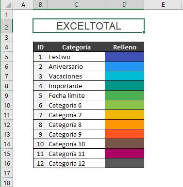 Descargar Calendario 2021 gratuito en Excel