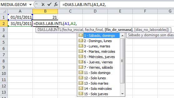Función Excel DIAS.LAB.INTL