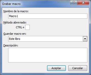 Qué es una macro en Excel 2010
