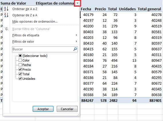 Crear una tabla dinámica desde múltiples hojas en excel