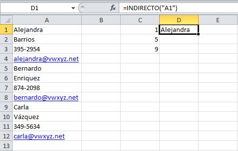 Convertir datos de una sola columna a una tabla