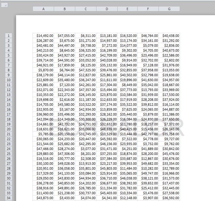 Insertar marca de agua en Excel
