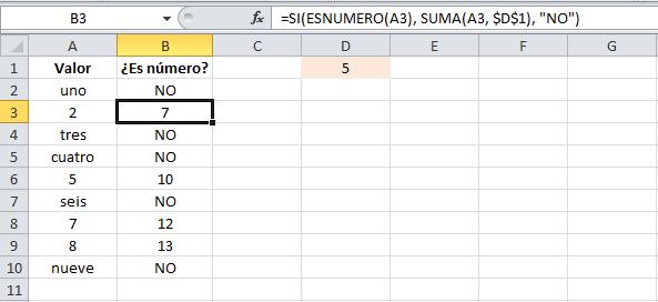 Utilizar una función como el valor de regreso para la función SI