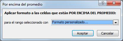 Para que sirve el formato condicional en Excel