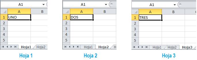 Buscar en varias hojas en Excel