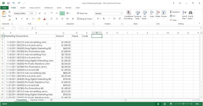 Microsoft Excel 2013 A La Vista Excel Total