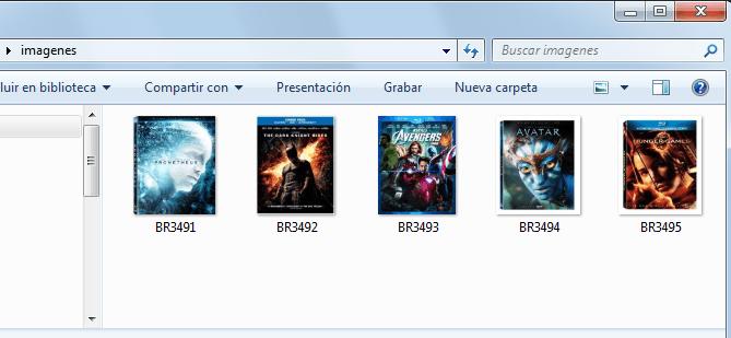 Repositorio de imágenes para catálogo en Excel