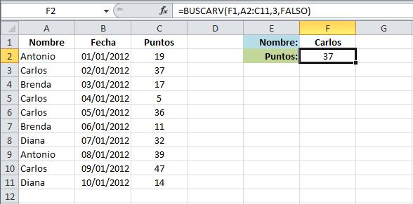 Buscar un valor y regresar múltiples resultados en Excel