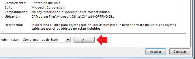 Cómo instalar un Complemento de Excel