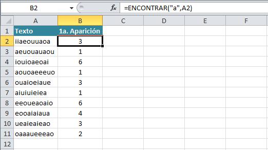 Tutorial Excel: Función ENCONTRAR - Excel Total