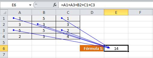 Referencias relativas en Excel 2010