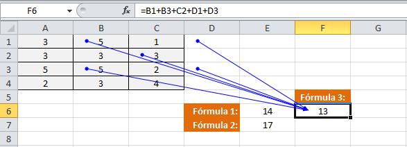Copia de una referencia relativa en Excel