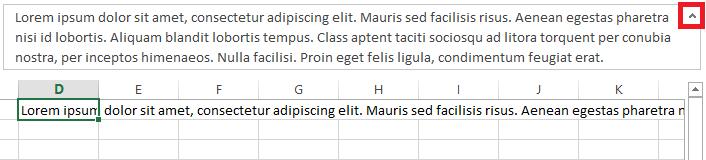 Barras Excel Barra de Fórmulas en Excel