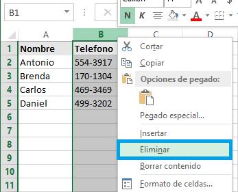 Columnas y filas en Excel 2013 - Excel Total