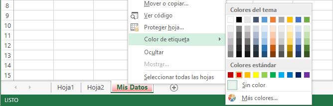 Manejo de hojas en Excel 2013 - Excel Total