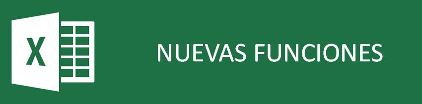 Nuevas funciones en Excel 2013