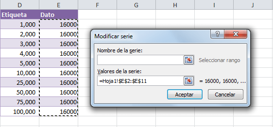 Cómo hacer una gráfica de Excel con escala logarítmica