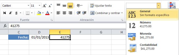 Calcular las horas entre dos fechas en Excel
