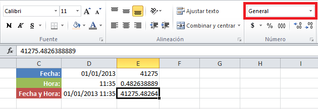 Calcular el tiempo transcurrido entre dos fechas en Excel
