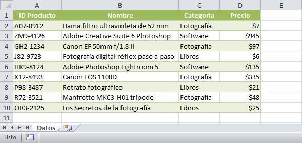 Copiar datos de una hoja a otra en Excel sin macros