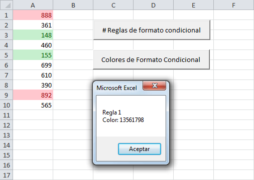 Sumar y contar celdas por color de formato condicional - Excel Total