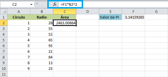 Referencias En Excel Excel Total