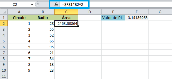Referencias en Excel - Excel Total