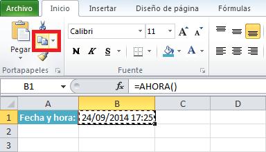 Excel Convertir fórmulas en valores