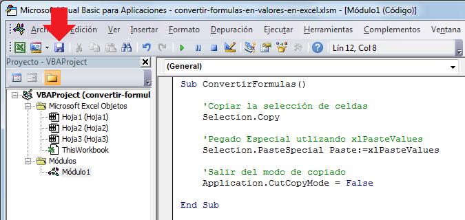 Convertir el resultado de una fórmula de Excel en número